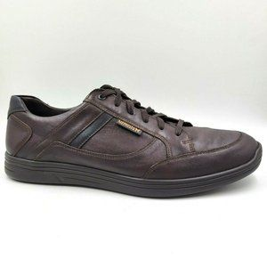 Mephisto Frank Brown Leather Comfort Sneakers 12